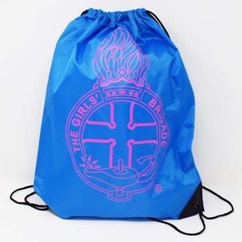 Aqua Blue Gym Bag