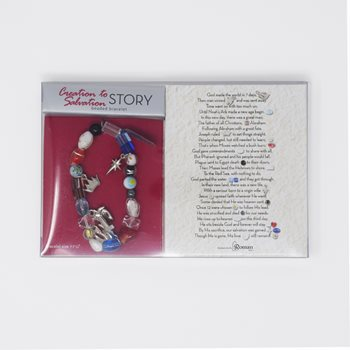 Creation to Salvation Beaded Bracelet