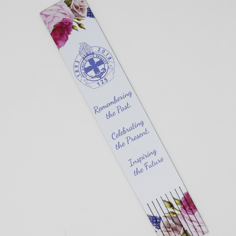 125 Floral Bookmark
