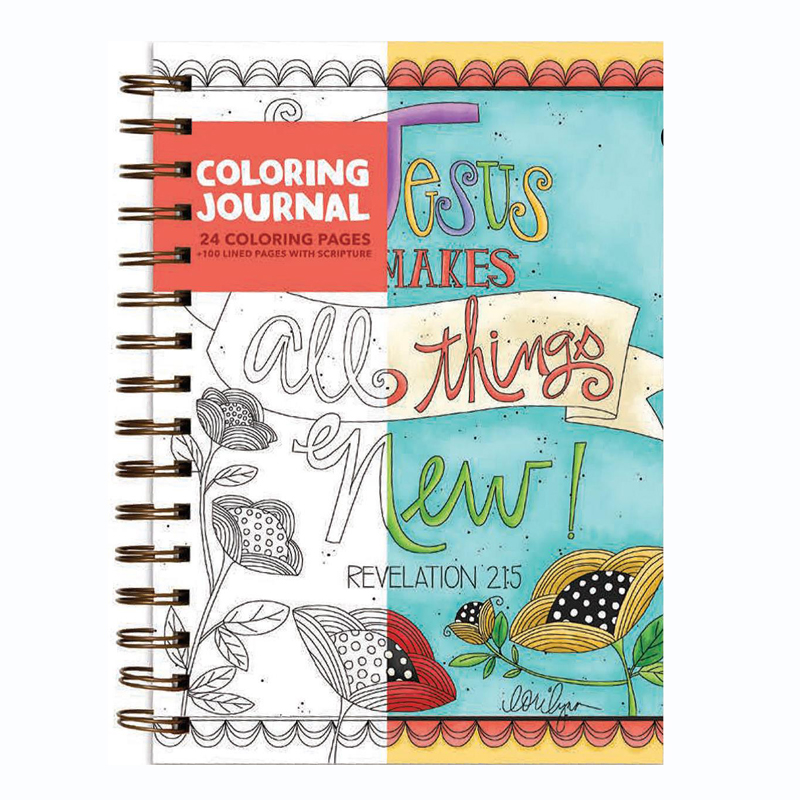 Colouring Journal - Jesus makes all things new