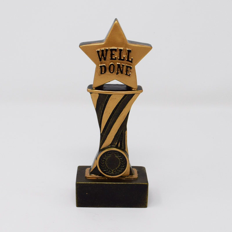 Showcase Well Done Trophy 17.5cm (A1774)