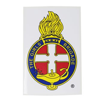 GB Crest Window Sticker - Self Cling