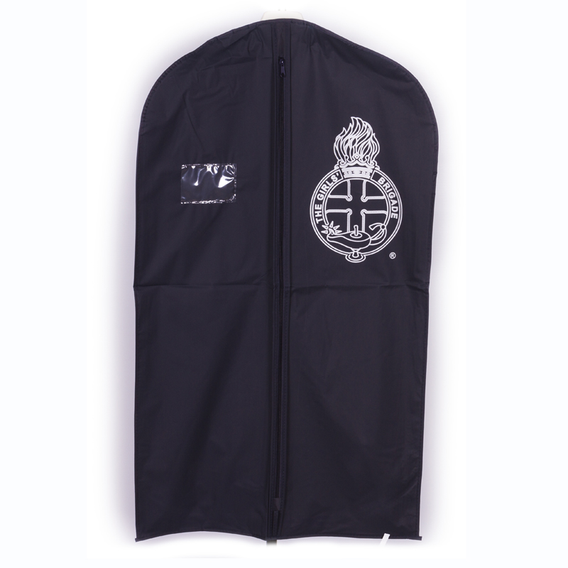 Navy Suit Cover With GB Crest