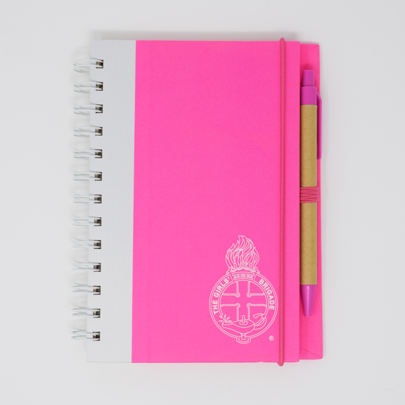 Pink Notepad & Pen