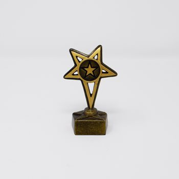 Small Europa Star Trophy 10cm (A1267A)