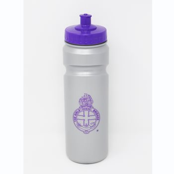 Grey & Purple Sports Bottle 750ml