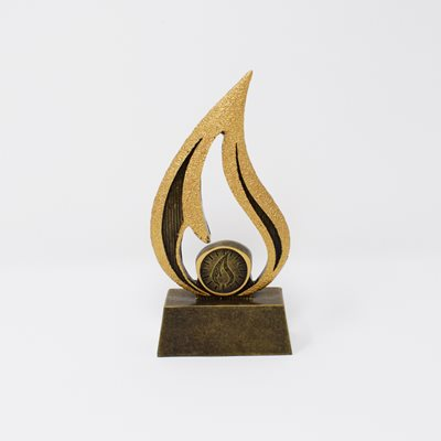 Faith Flame Trophy 16cm (A1825A)