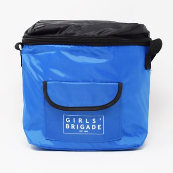 Blue Cooler Lunch Bag