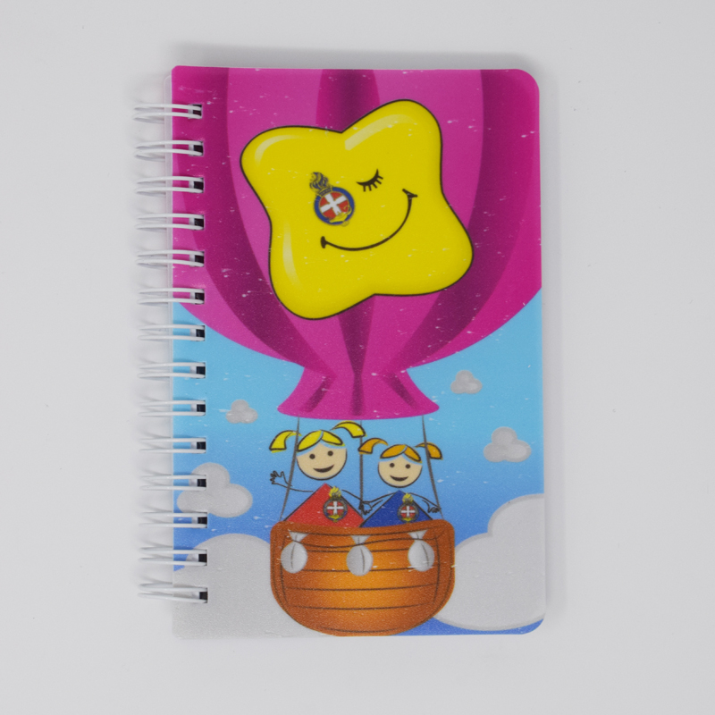 GB Hot Air Balloon Notebook A6 (Print quality issue)
