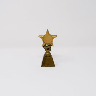 Small Glitter Star Trophy (A399AA)