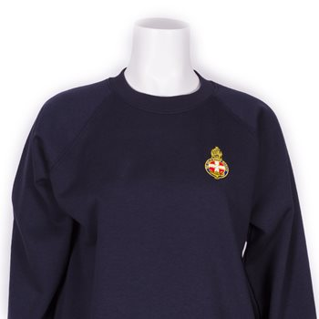 Navy Round Neck Sweatshirt