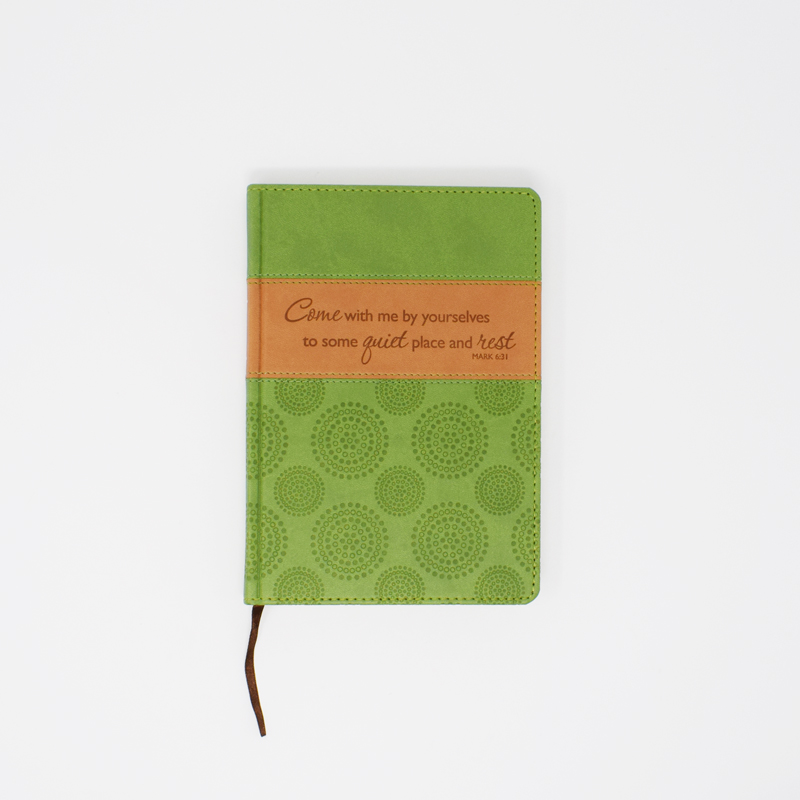 Quiet Faux Leather Journal