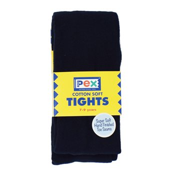 Pex Girls Navy Tights