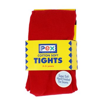 Pex Girls Red Tights
